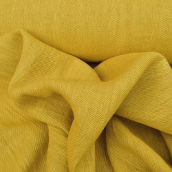 Hand-Dyed Linen Twill - Yellow
