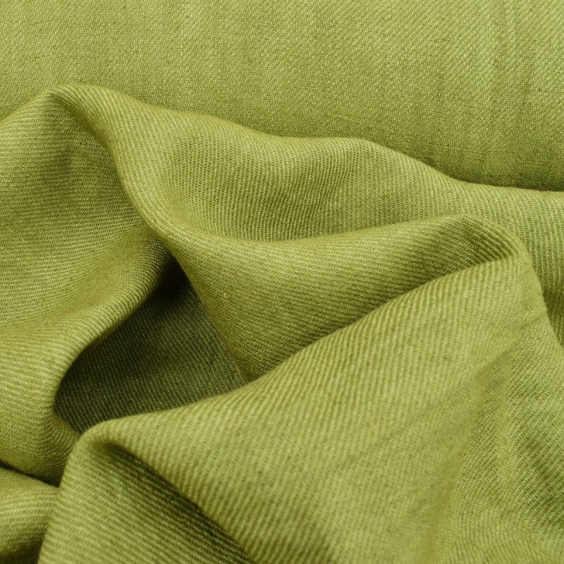 Hand-dyed Twill Green