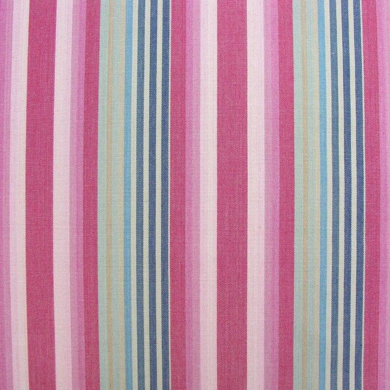 Ticking Vintage Stripe Raspberry