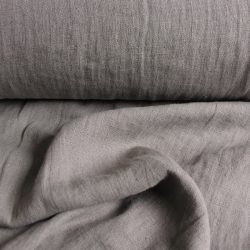 Washed Linen Elephant Grey