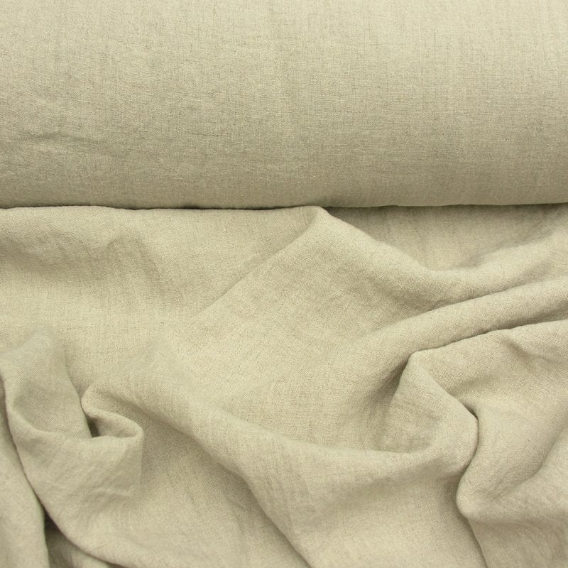 Washed Linen Wide Natural