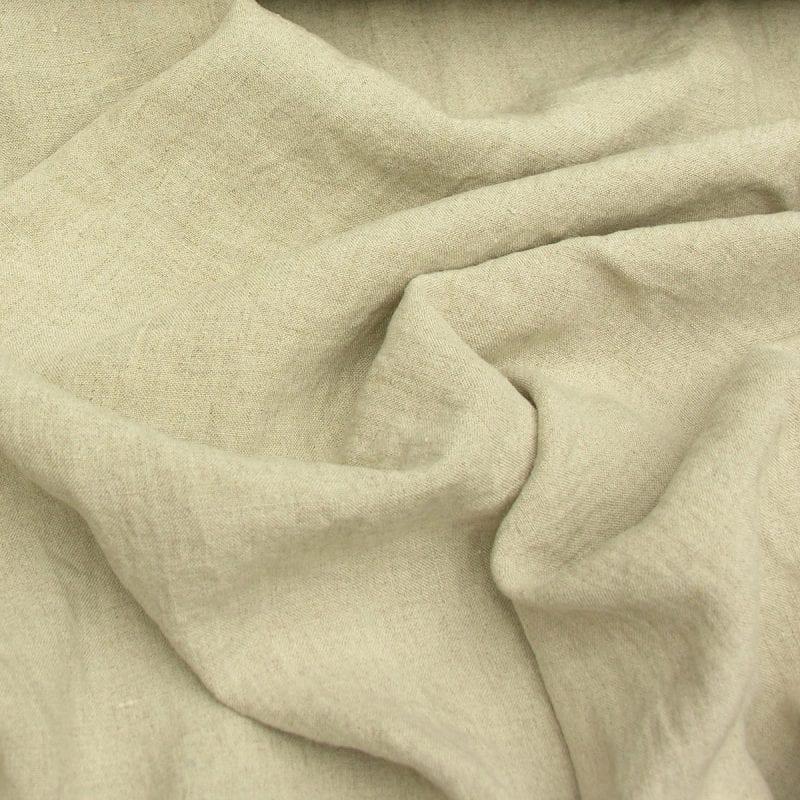 Washed Linen Wide Natural