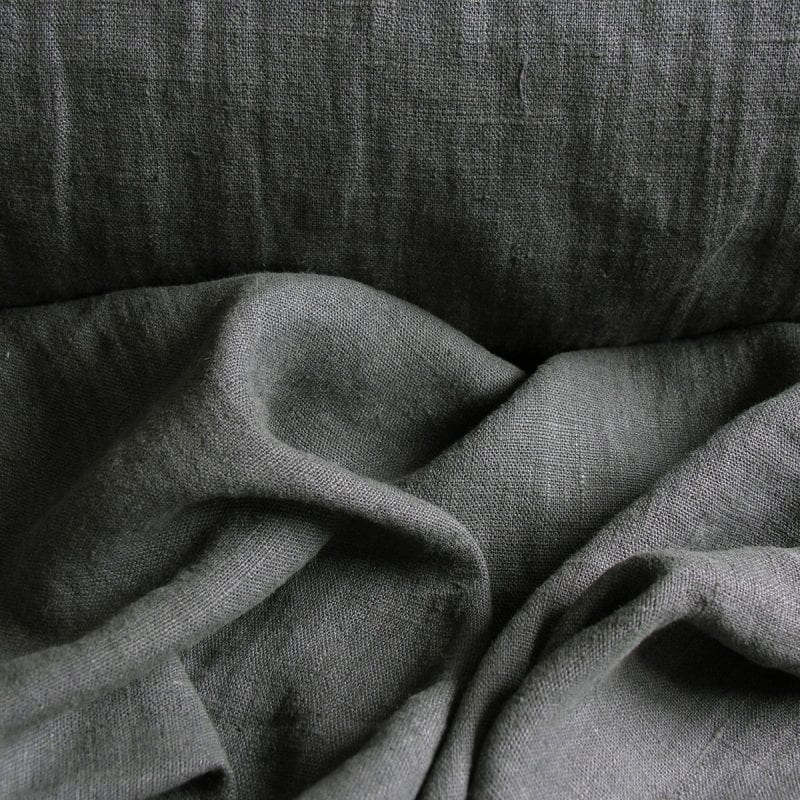 Washed Linen Tornado Grey