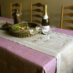 Bon Appetit Table Runner White Lettering
