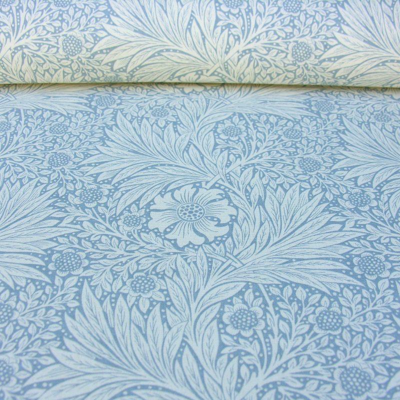 William Morris Marigold Linen China Blue