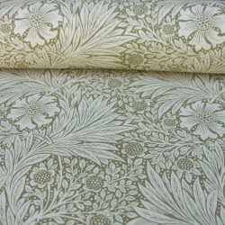 William Morris Marigold Linen Olive Linen