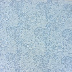 William Morris Marigold Linen China Blue