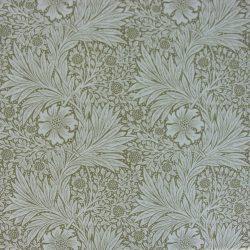 William Morris Marigold Linen Olive Linen