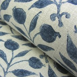 William Morris Fabric Rosehip Indigo
