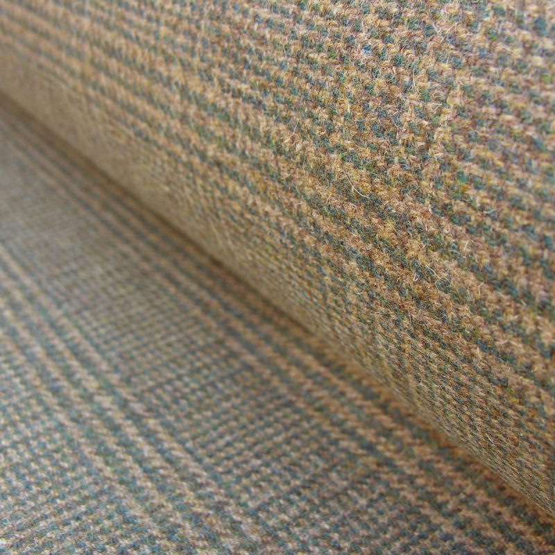 Wool Pendle Green Check