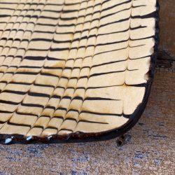 Andrew McGarva Square Slipware Dish - AMG19412