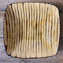 Andrew McGarva Square Slipware Dish - AMG19413