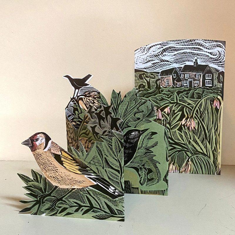 Angela Harding Finch Card