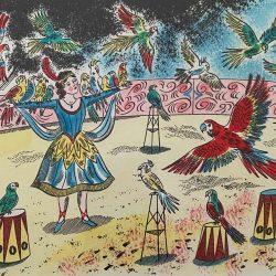Emily Sutton Parrot Show