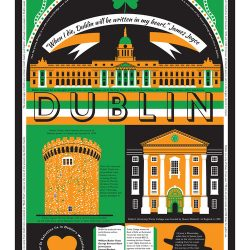 James Brown print Dublin