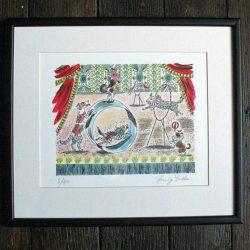 Emily Sutton Circus Dogs print