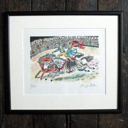 Emily Sutton Circus Riders print