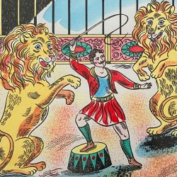 The Lion Tamer by Emily Sutton