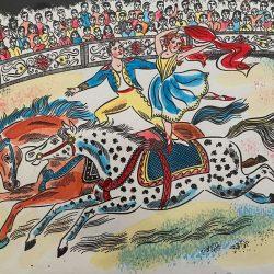Emily Sutton Circus Riders