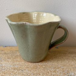 James Burnett-Stuart Fluted Mug Moss Green - JBS1914