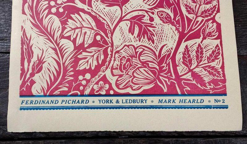 Mark Hearld Papier Dominote Ferdinand Pichard