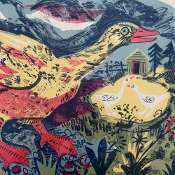 Mark Hearld Goose Detail