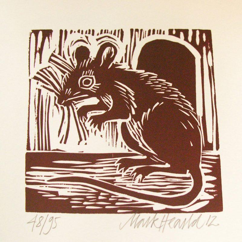 Mark Hearld Mouse print