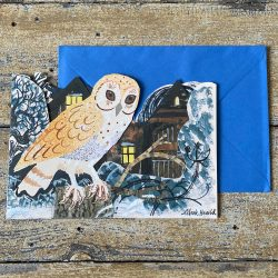 Mark Hearld Owl Card