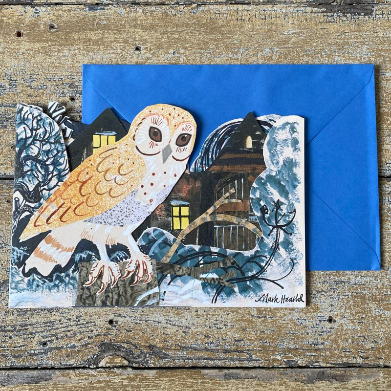 Mark Hearld Owl Card