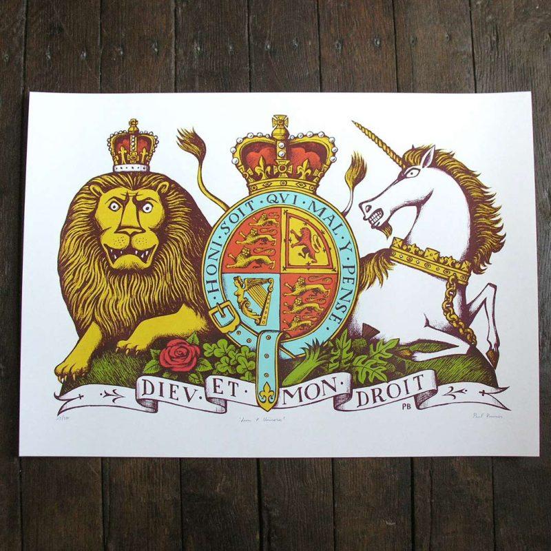 Paul Bommer Lion & Unicorn