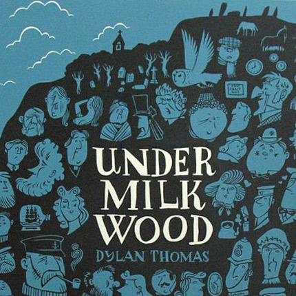 Paul Bommer Under Milkwood print detail