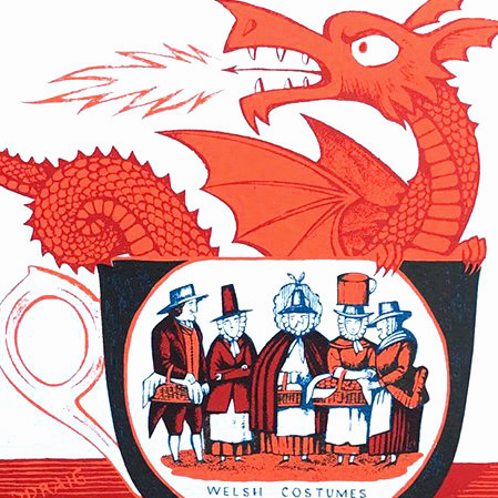 Paul Bommer Welsh Cup Print