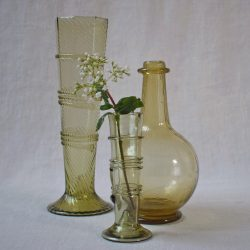 Roman Flute Round Base Vase