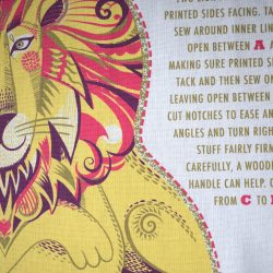 Printed Cotton Teatowel - Clarence
