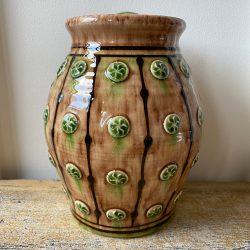 Paul Young Slipware Earth Sprig Jar - SPPY22