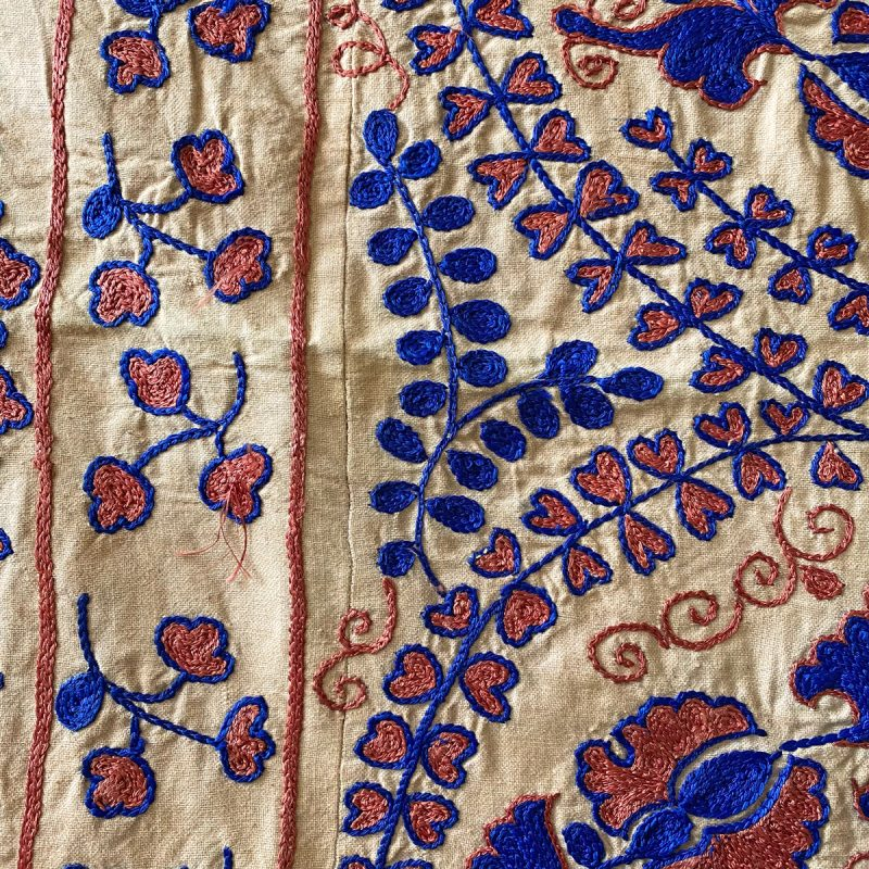 Suzani Embroidered Bedcover - SZ1