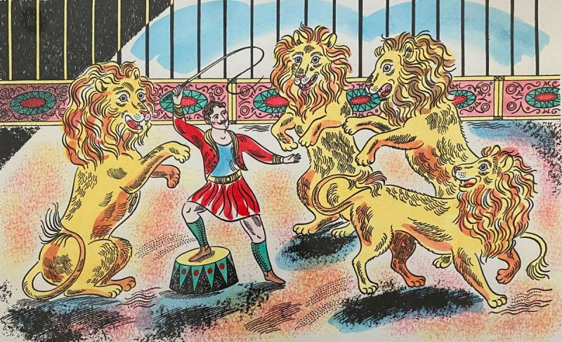 Emily Sutton The Lion Tamer