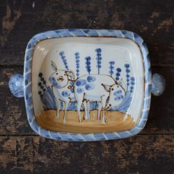 Square Baker Pigs Stoneware AMGBB3 by Andrew McGarva