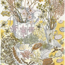 Angie Lewin Nature study Late Summer print