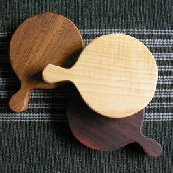 Round Hardwood Chopping Boards