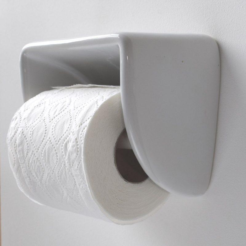 Loo Roll Holder Porcelain