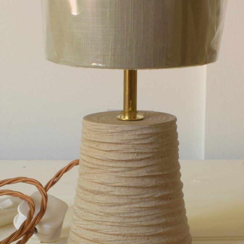 Rope Textured Cone Lamp - CL18