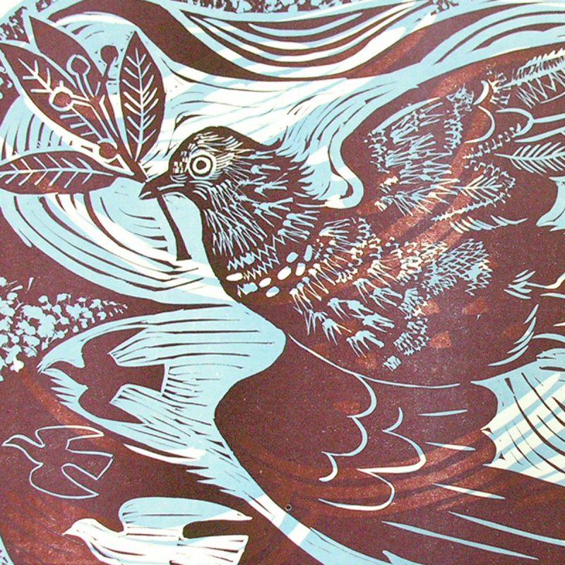 Pidgeon by Mark Hearld