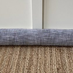Cotton Chambray Draught Excluder