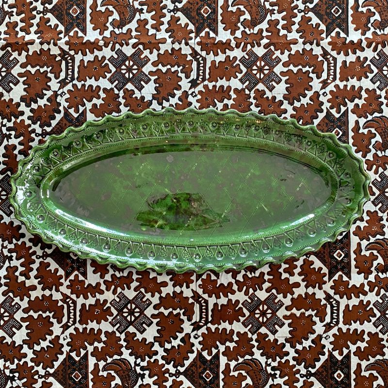 French Country Pottery Fish Dish FFP5