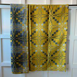 Vintage Star Welsh Blanket - Gorse