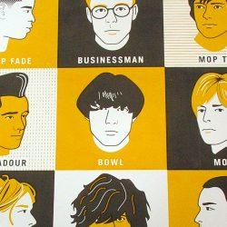 Hair print by James Brown