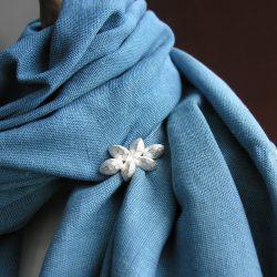 Indigo Wrap - Light Blue