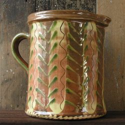 French Country Pottery Large Jug
