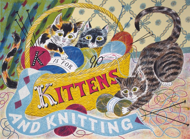 K is for Kittens by Emily Sutton
